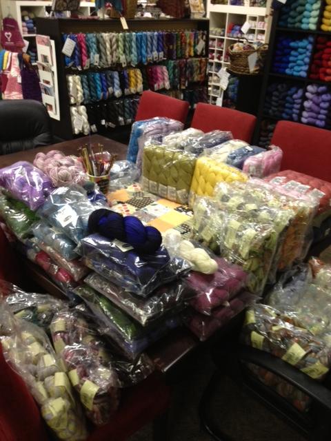 Yarn shipment